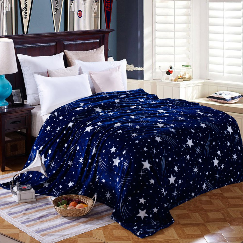 Kess InHouse Malia Shields Blues Abstract Series 1 Green Teal Fleece Throw Blanket 60 X 50 60 by 50-Inch