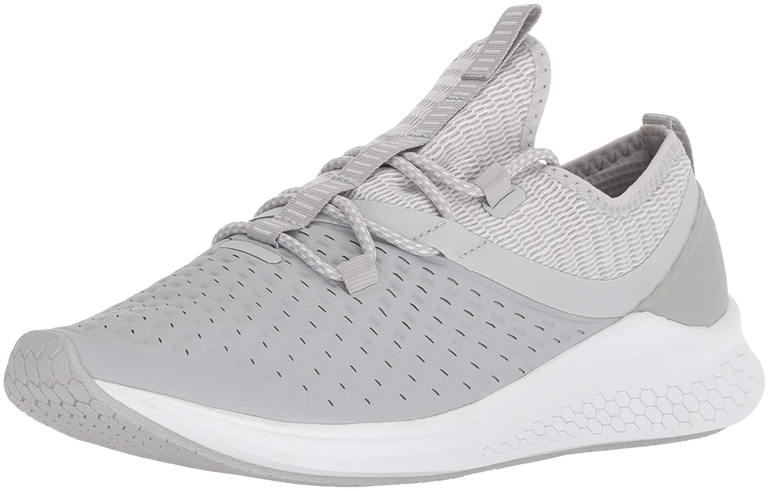 New Balance Women's Lazr V1 Fresh Foam Running Shoe B075R7D1H8 8.5 M US|Light Grey