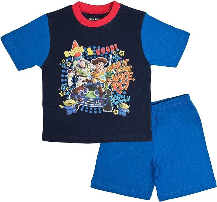 98b5ec53db Toy Story Buzz Lightyear Boys Pjs Short Pyjamas Sleepewear Nightwear Size  12 Months to 4 Years