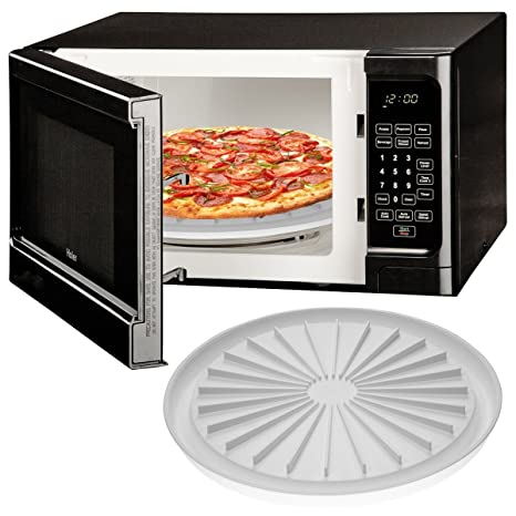 Amazon.com: Plato de pizza para Microondas, Cocina bacon ...