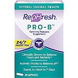 RepHresh Pro-B Probiotic Feminine Supplement, 30 Oral Capsules