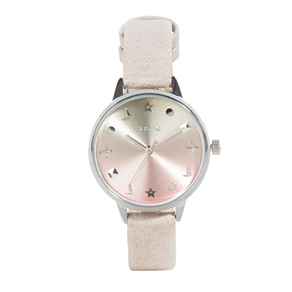 Parfois - Reloj Silver - Mujeres - Tallas Única - Gris: Amazon.es: Relojes