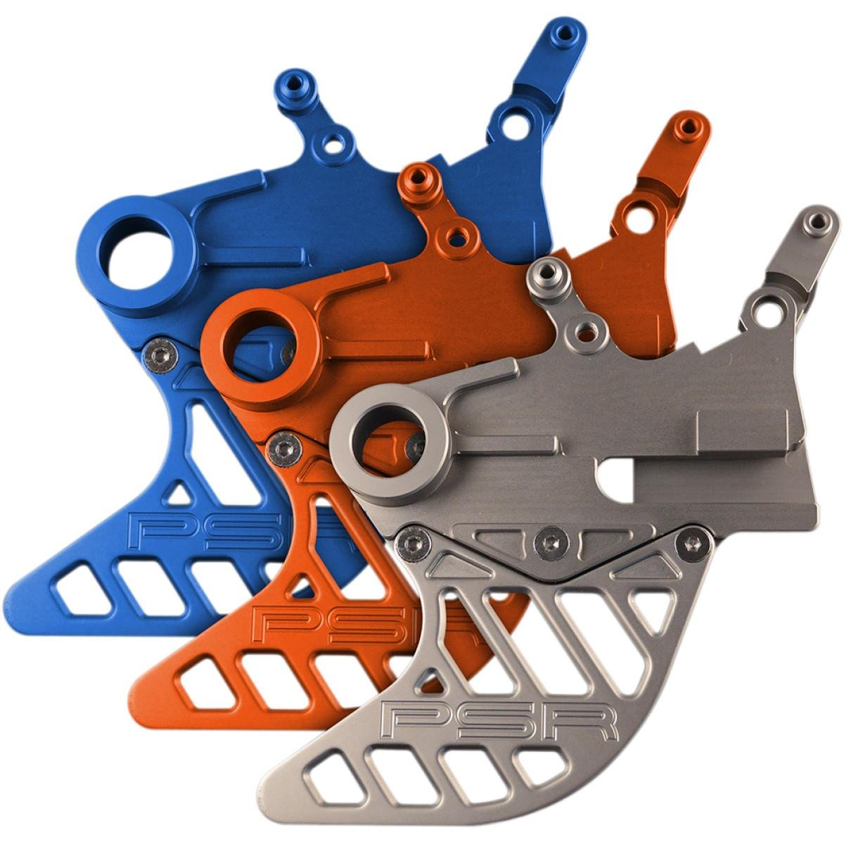 Powerstands Racing Rear Disc Guard - Orange 080410128