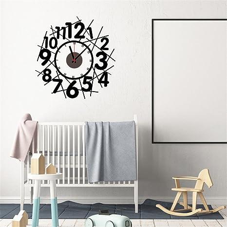 WHLGZ Decoracion De Moda Reloj De Pared Decorativos Diy Relojes De Pared