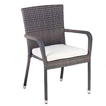 Oseasons Winchester ratán muebles de jardín silla de jardín con ...