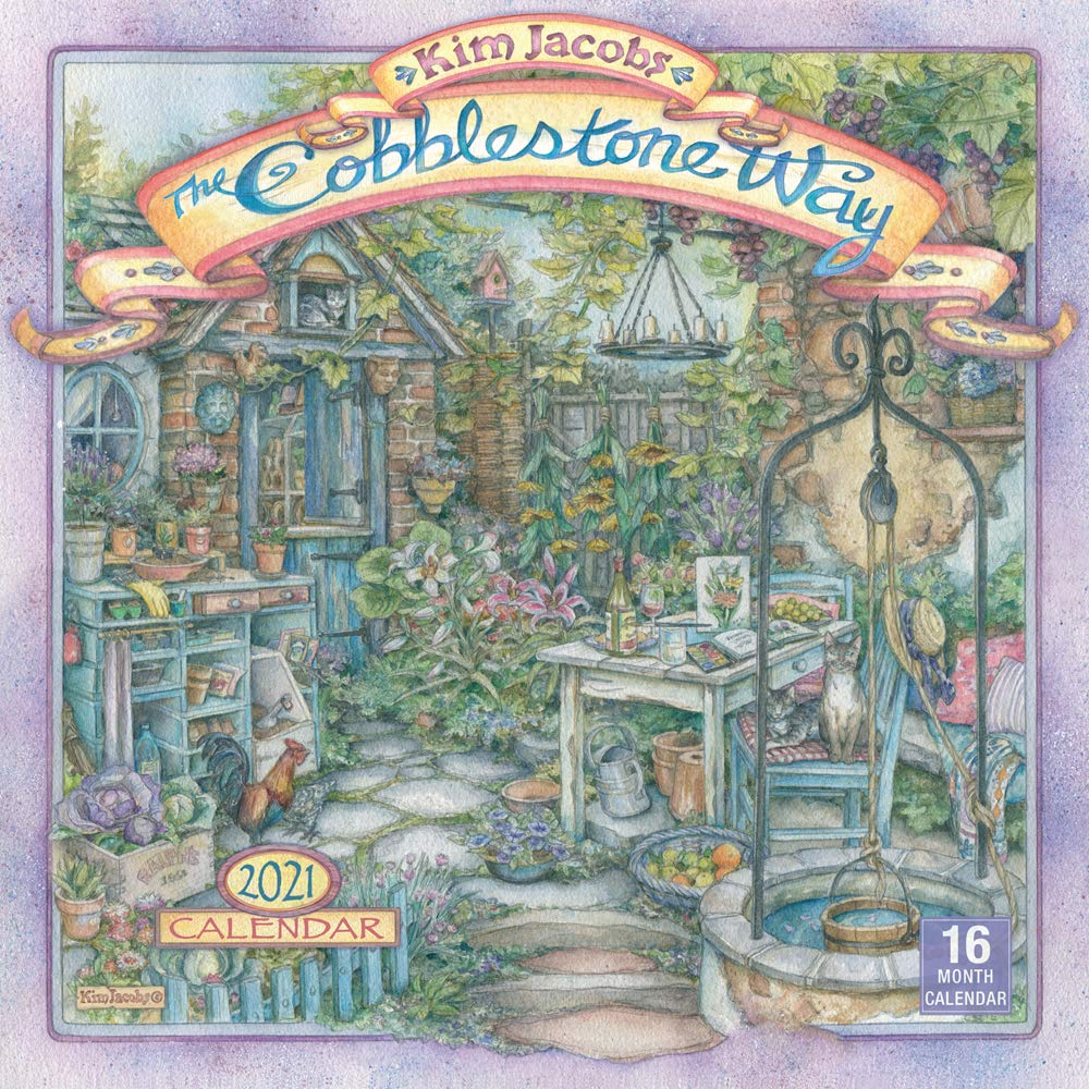 2021 The Cobblestone Way 16 Month Wall Calendar: Jacobs, Kim