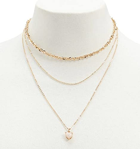 collier or femme amazon