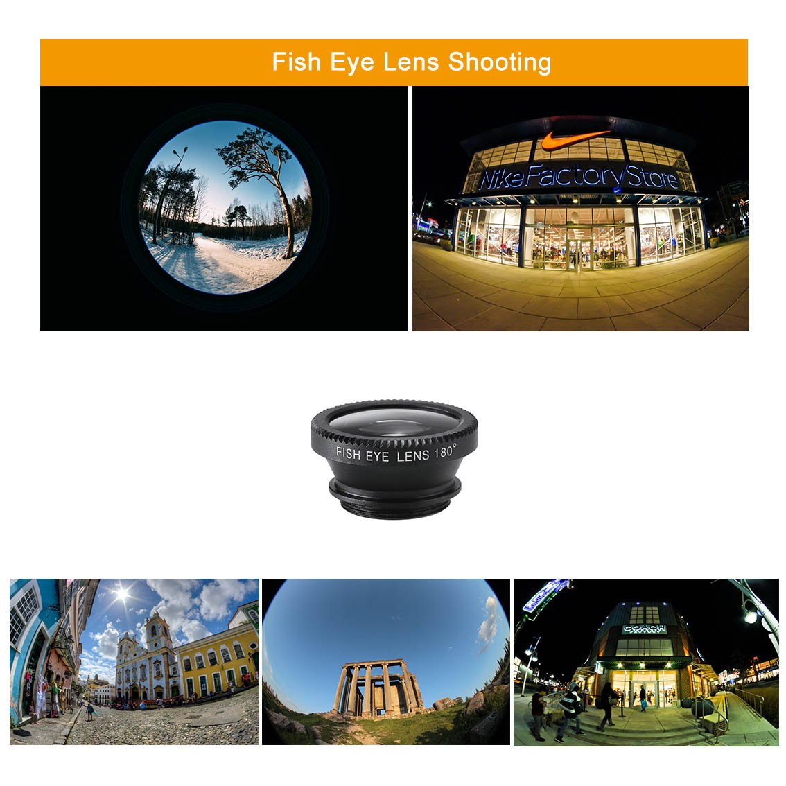 Phone Camera Lens, MSDADA Telephoto Lens Kit, 12X Optical Telescope, Fisheye, Wide Angle and Macro Lens, Retractable Tripod with Bluetooth Shutter for IPhone, Samsung, Most of Smartphones,Tablets by MSDADA (Image #5)