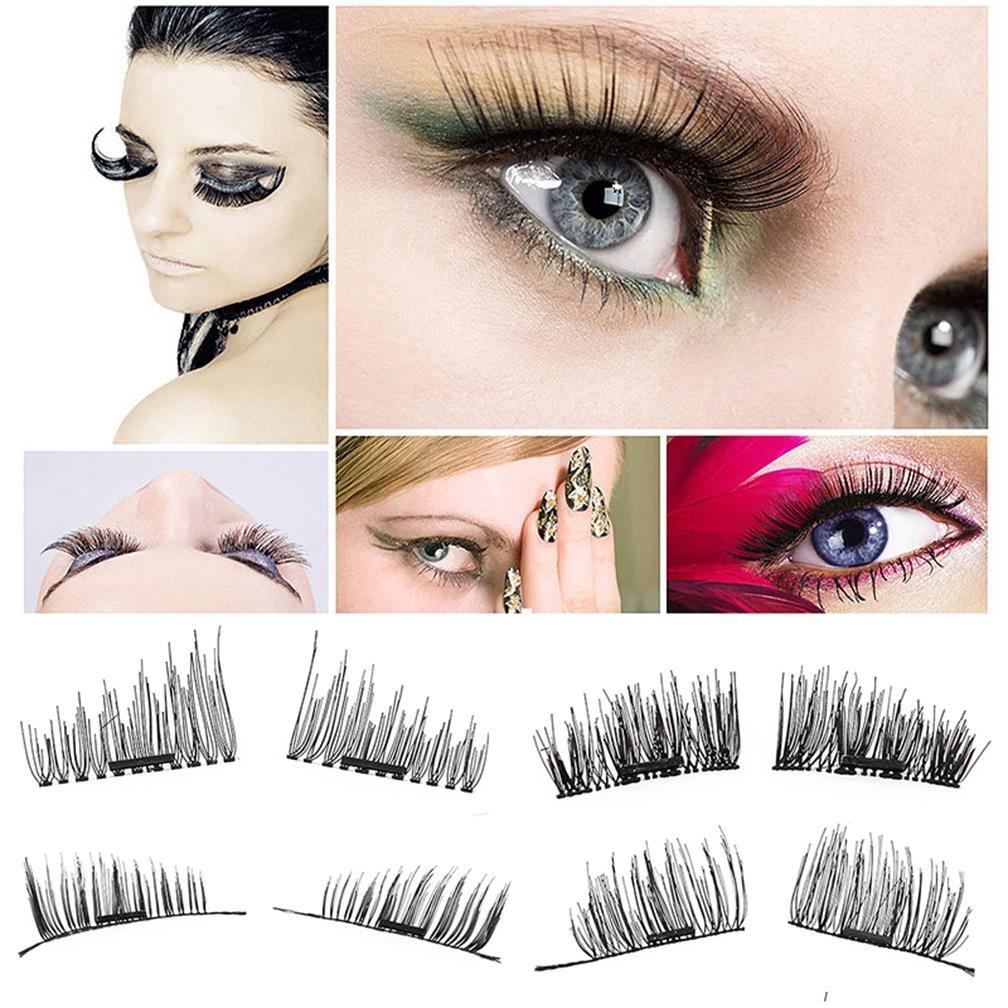 Amazon False Magnetic Eyelashes Reusable Fake Eyelashes Ultra