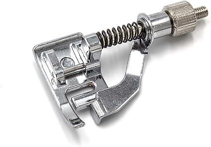 vhbw Accesorio Repuesto máquina de Coser, pie de Costura Invisible ...