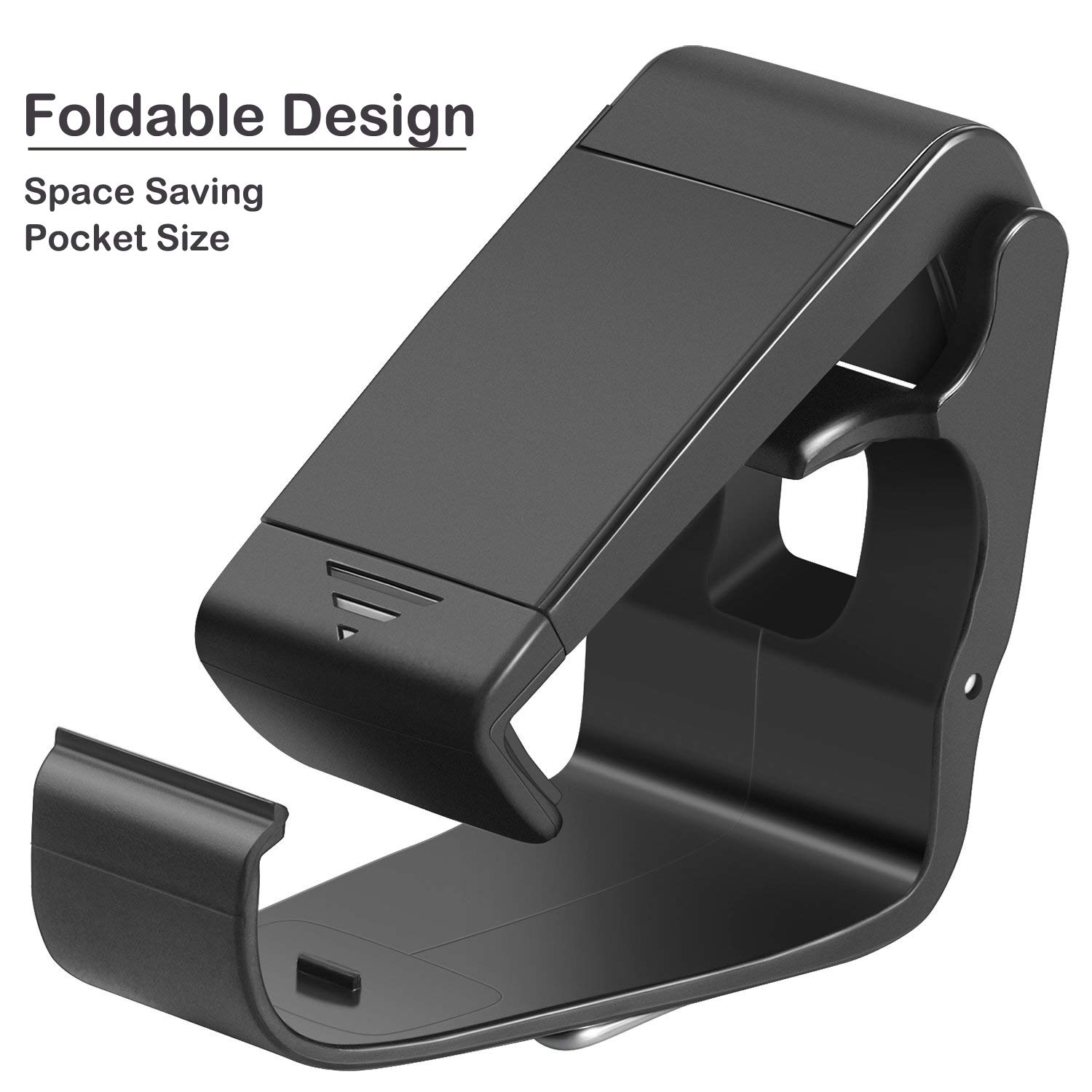 Megadream Foldable Mobile Phone Holder Cellphone Clamp Smartphone Clip Compatible with Microsoft Xbox One/Xbox One S/Xbox One X, SteelSeries Stratus XL/Nimbus, Steam Controllers, with Analog Stick Cap
