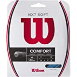 NEW Dunlop Silk power /& comfort 16g natural 40 feet tennis string set