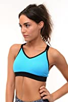 B.BANG Women Padded Shockproof Bralette Sports Bras for Gym Running Workout