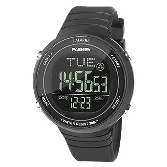 Hiwatch Reloj Deportivo LED Digital Gran Pantalla Relojes para ...