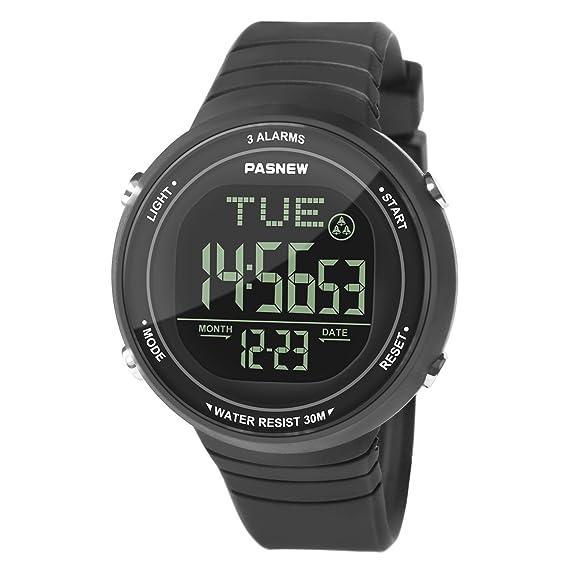 Y Niñas Jovenes Estudiantes Gran Reloj Impermeable Casual Deportivo Para Niños Simple Pantalla Hiwatch Luminoso Digital Led Relojes 43ARLS5jcq