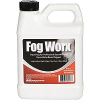 FogWorx Fog Juice - 1 Quart of Organic Odorless Fog Fluid (32 oz) - Medium Density, High Output, Long Lasting Fog Machine Fluid for 400 Watt to 1500 Watt Machines