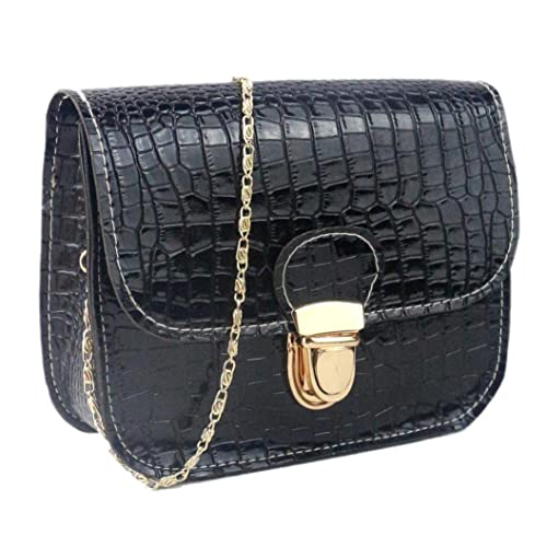 Girls Leather CrossBody Bag Mini Shoulder Bags Fashionable Casual Handbags for Women K by TOPUNDER