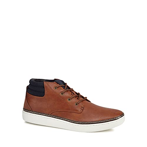 Debenhams Red Herring Men Tan 'Carter' Chukka Boots 9