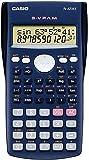 Casio FX-82MS - Calculadora científica (240 funciones, 24 niveles de paréntesis, VPAM), color azul