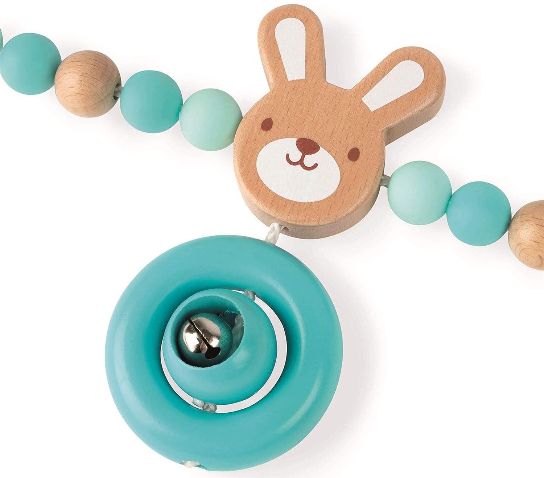Multicolore J04611 Bois et Silicone Janod Boulier Baby Pop