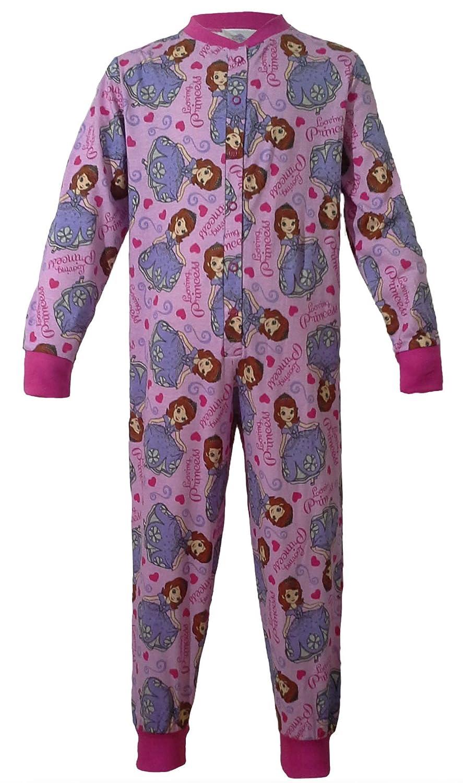 Disney Onesie Pyjamas Sleepsuit Cotton Girls