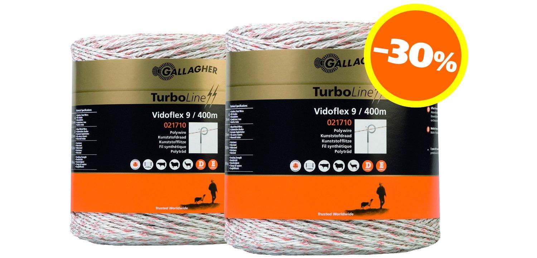 Duopack Vidoflex 9 400m weiß