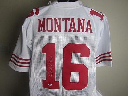 Joe Montana Autographed Signed San Francisco 49ers Jersey Signature