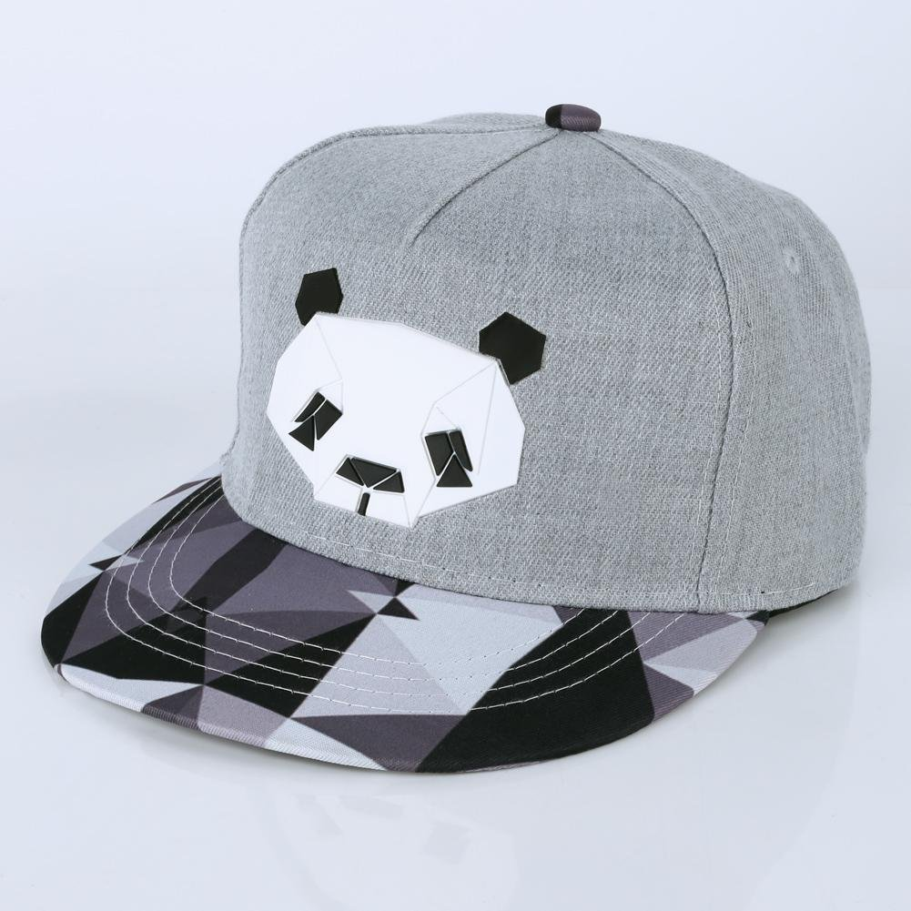 34ae2392088 vanpower Women Men Visor Baseball Cap Unisex Snapback Flats Hip-Hop Bboy Hat  Pandas  Amazon.co.uk  Clothing