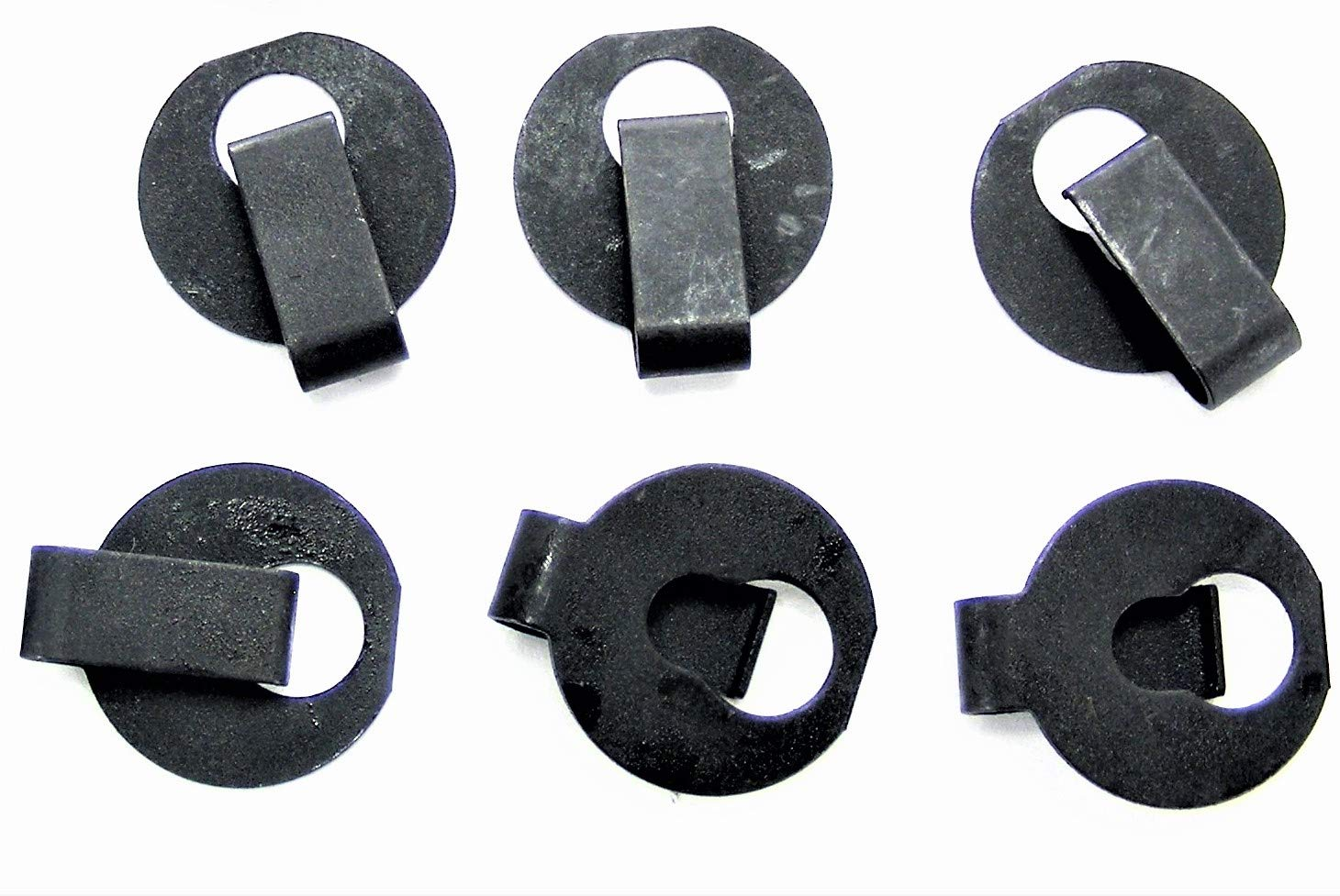 "#097 Jeep Hood Insulation Pad Retainer Clips Qty.15 1/"" Dia. Fits 1//4/"" Hole"