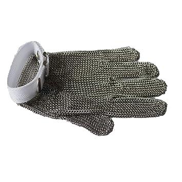 BAI Nuevo guante de mano de malla de acero inoxidable para ...