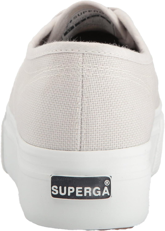 Superga Women's 2790 Acotw Fashion Sneaker Grey Seashell