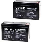 UPG UB1280I Sealed Lead Acid Batteries (2 Pack)