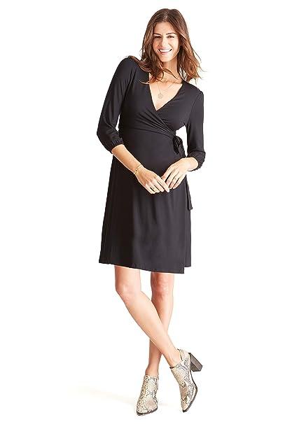 a76a81088a Ingrid   Isabel Womens 3 4 Sleeve Wrap Maternity Dress  Amazon.ca ...