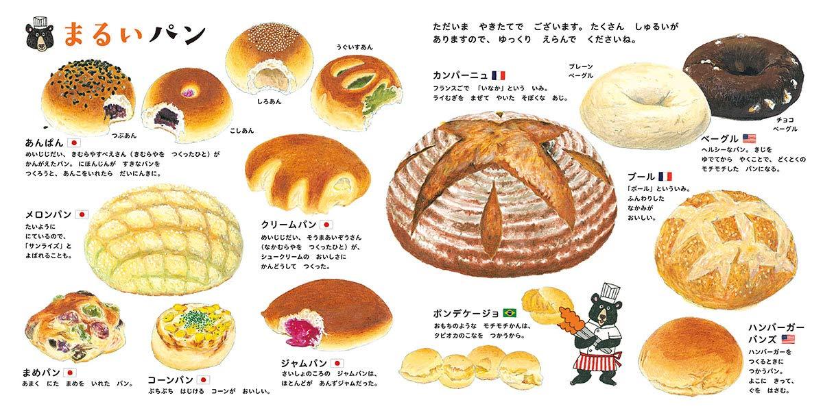 Amazon.co.jp: パンのずかん (...