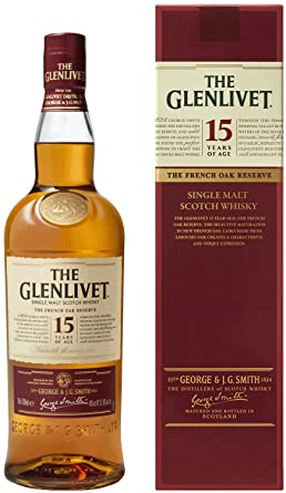 glenlivet 15 year old scotch malt whisky 70 cl amazon co uk grocery