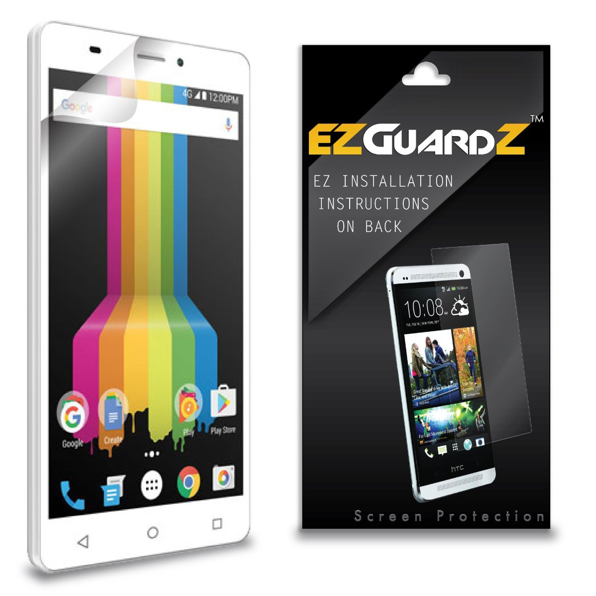 Amazon.com: (2-Pack) EZGuardZ Screen Protector for Polaroid ...