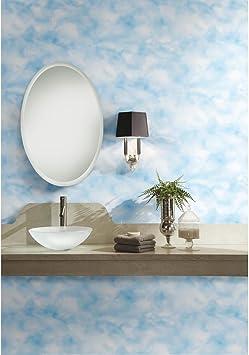 Roommates Sky Blue Cloud Peel And Stick Wallpaper Amazon Com