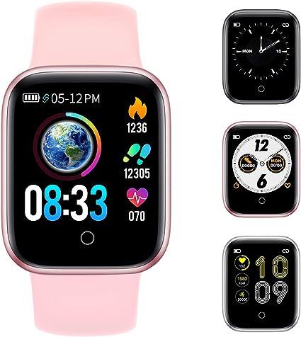 Amazon.com: RUNDOING Reloj inteligente para teléfonos ...
