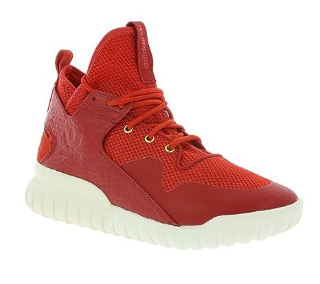 scarpe adidas tubular uomo rosse