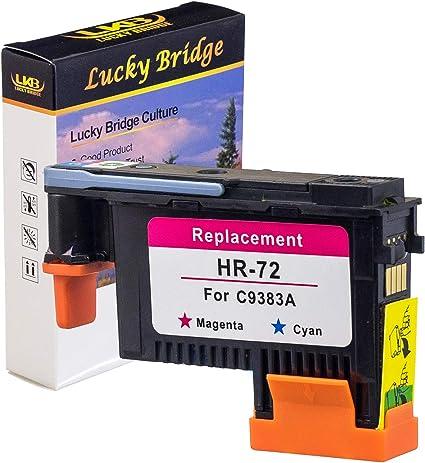 LKB HP72 Cabezal de impresión remanufacturado C9383A con Chips ...