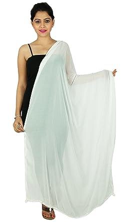 Pañuelos Mujer Moda gasa cuello indio Dupatta abrigo de Hijab Chunni largas: Amazon.es: Ropa y accesorios