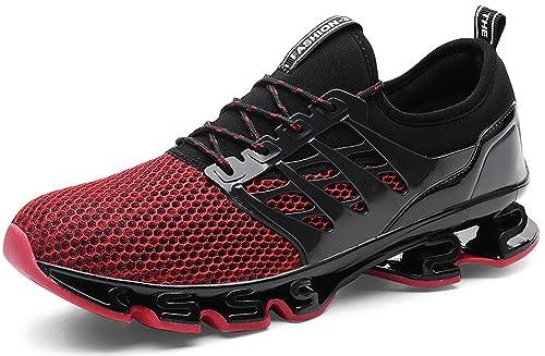 0b7ad7c79fdbae JOOMRA Herren Fitnessschuhe Laufschuhe Sportschuhe Sneakers Leicht Jogging  Schuhe Gym Turnschuhe Outdoor Running Atmungsaktiv Freizeit Männer