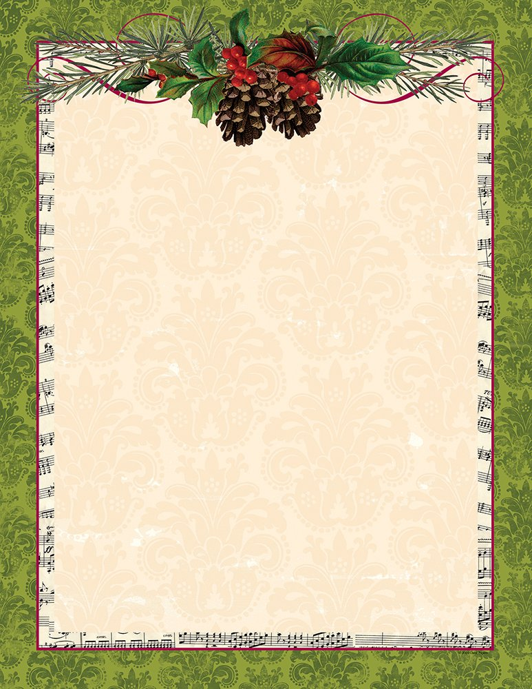 Great Papers! Beautiful Winter Letterhead, 80 count, 11 x 8.5 (2015100)