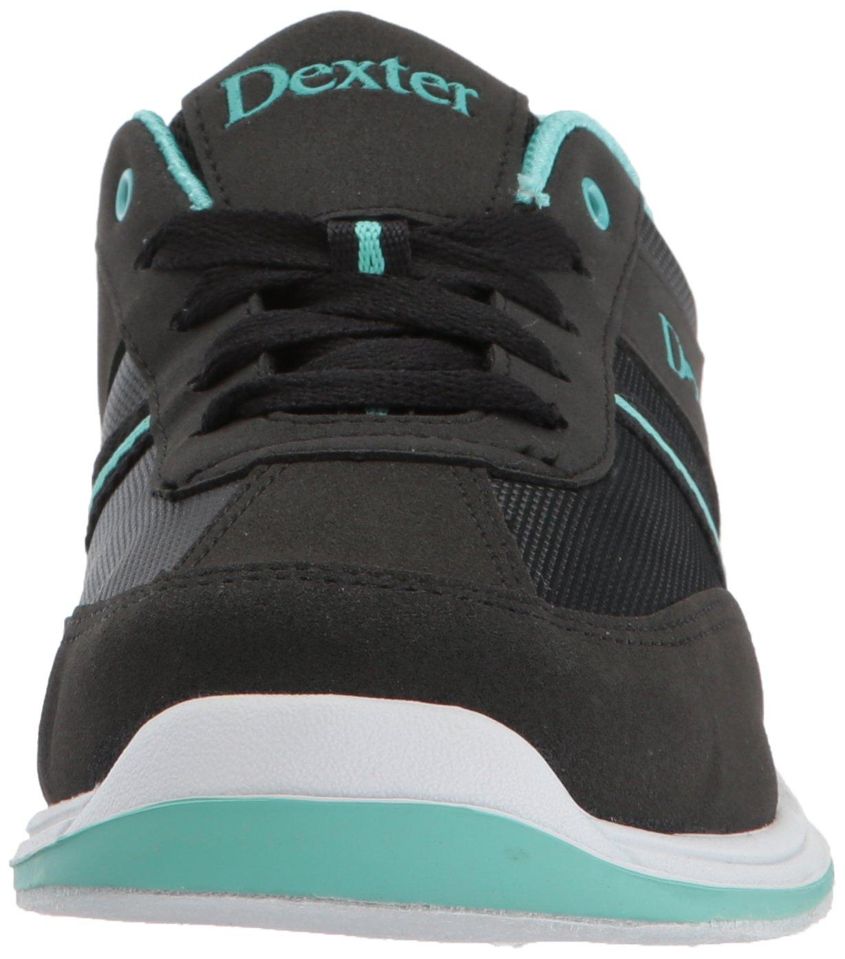 Dexter Dani Bowling Shoes B00ZBWD2ZC 7.5|Black/Turquoise