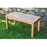 Rectangular Solid Teak 90cm Coffee Table