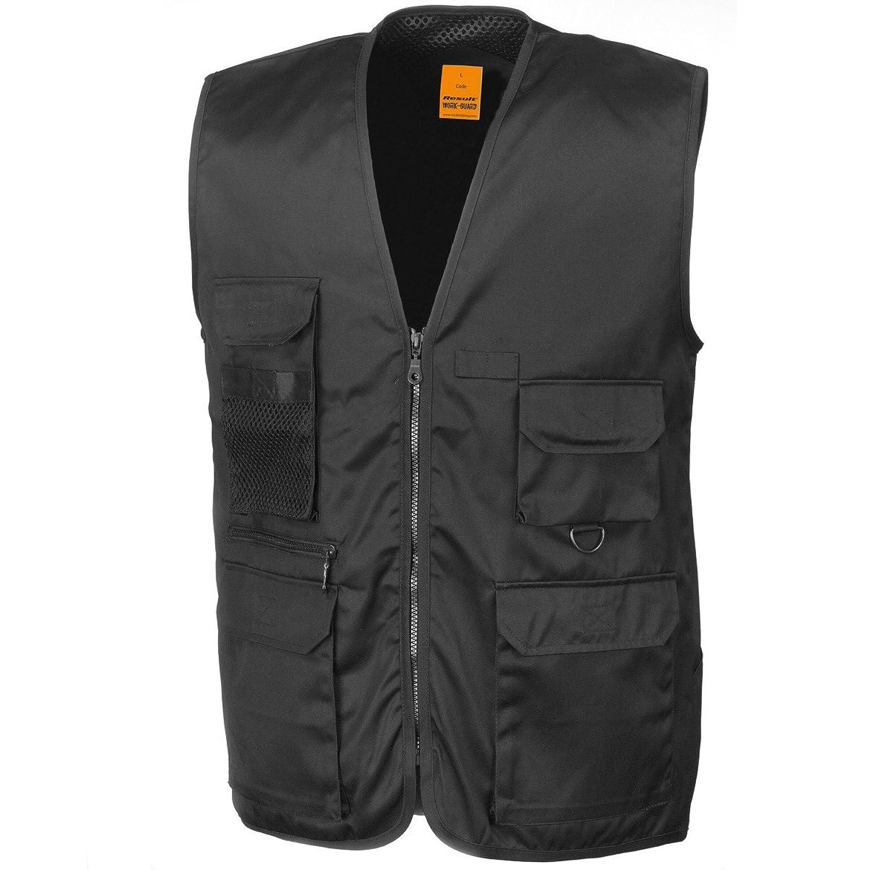 Populaire Result Safari - Gilet - Homme: Amazon.fr: Vêtements et accessoires QK38