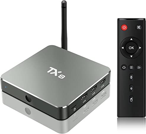 TICTID TX8 Android 6.0 TV Box 2/32GB EMMC Amlogic S912 Octa core ARM Cortex-A53 CPU 5G+ 2.4G WIFI/ BT 4.1/H.265 DLNA /4K Smart tv box: Amazon.es: Electrónica