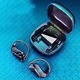 Fone de ouvido QUANXI MD03-TWS sem fio com controle de toque Bluetooth 5.0, fones de ouvido estéreo 9D TWS com 10 horas de mú