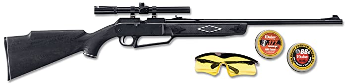 4. 880 Powerline Air Rifle Kit, Dark Brown/Black, 37.6 Inch