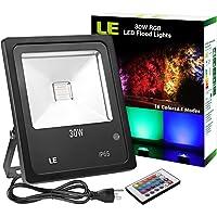 Lighting Ever 30-watt Outdoor RGB LED Dimmable Flood Light